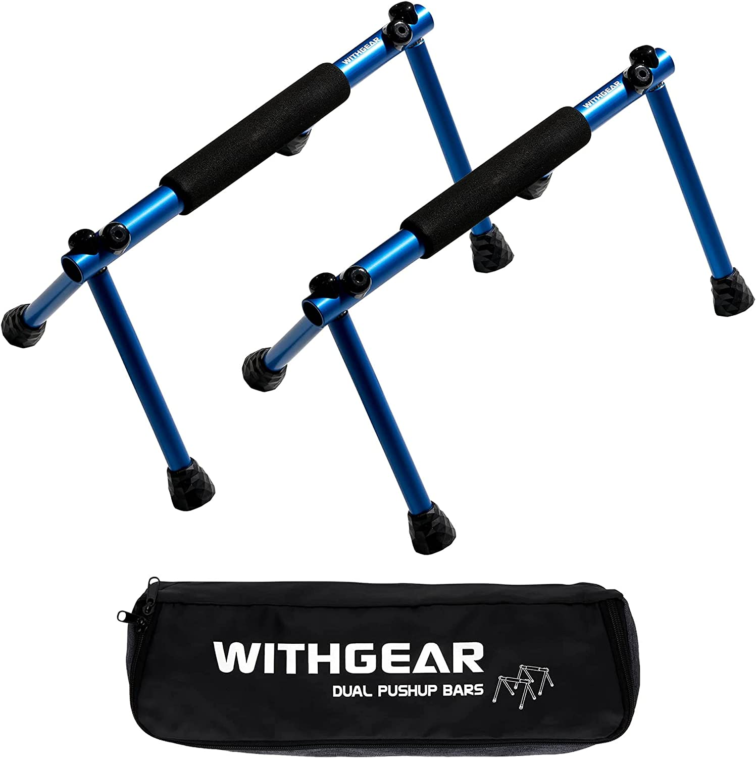 Withgear Folding Push Up Bar - Sturdy Portable Lightweight D Ultra-Cheap Deals In stock and
