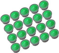 Cabilock 20 stuks straalregelaar beluchter reserveonderdelen kraan zeef inzetstuk kunststof filter mengmond voor kraan groen