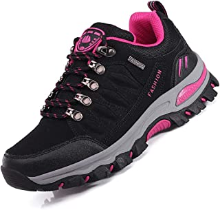LANSEYAOJI Homme Femme Chaussures Montantes de Randonn/ée Non-Slip Outdoor Bottes de Marche Trekking descalade Escalade L/ég/ères Sneakers Unisexe Imperm/éable 39-47