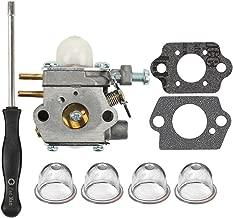 HIPA 753-06190 Carburetor + Adjustment Tool for MTD Troy Bilt TB21EC TB22 TB22EC TB32EC TB42BC TB80EC TB2040XP String Trimmer Brushcutter