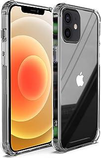 Migeec Compatible con Estuches para iPhone 12 Pro y iPhone 12 Estuche rígido para PC + Marco de TPU Suave [Amortiguador] E...