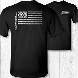 Men's American Flag Surfer Shirt