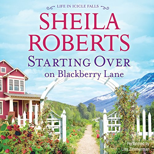 Starting over on Blackberry Lane audiobook cover art