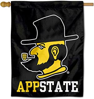 College Flags and Banners Co. App State Mountaineers Yosef Double Sided House Flag