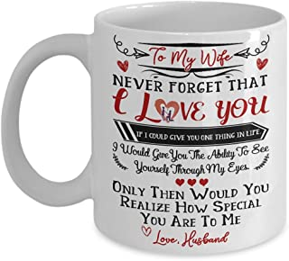 thank you for being my wife mug