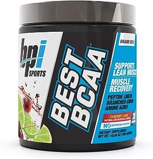 BPI Sports Best BCAA Powder, Cherry Lime, 10.58 Ounce