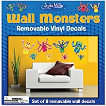 Accoutrements Wall Monsters Vinyl Decals