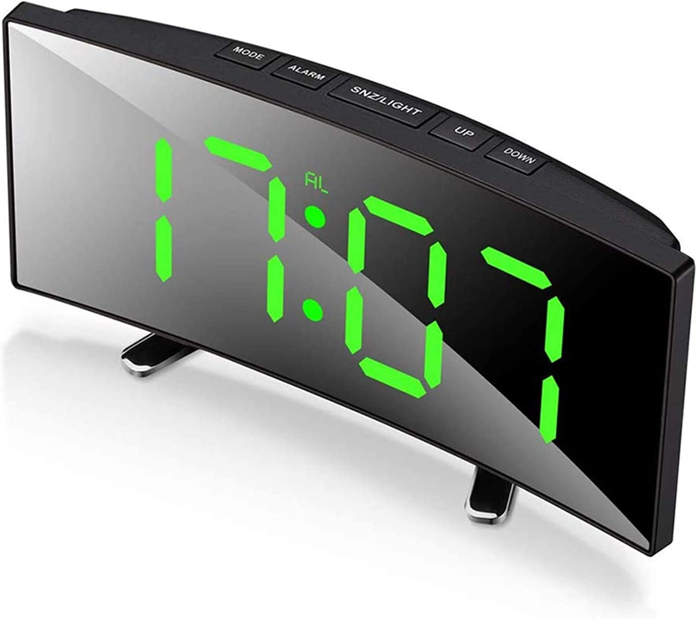 JUNQIAOMY Alarm Clock Digit Japan's largest Max 52% OFF assortment Electronic Digital