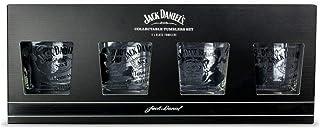 Jack Daniels - Juego de 4 vasos