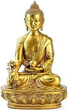 PPCP Opening Pure Copper Buddha Statue Copper Sambo Buddha Pharmacist Buddha Tantra Nepal III Buddha Brass Buddha Decoration