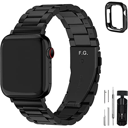 Fullmosa Acero Inoxidable Correa Compatible Apple Watch/iWatch Serie SE, Serie 6, Serie 5, Serie 4, Serie 3, Serie 2, Serie 1, Apple Watch Correa 38mm 40mm 42mm 44mm