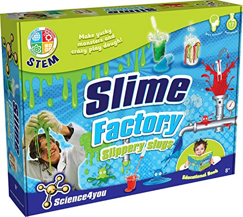 Science 4 You, Kit de babosas de fábrica con folleto Educativo Stem