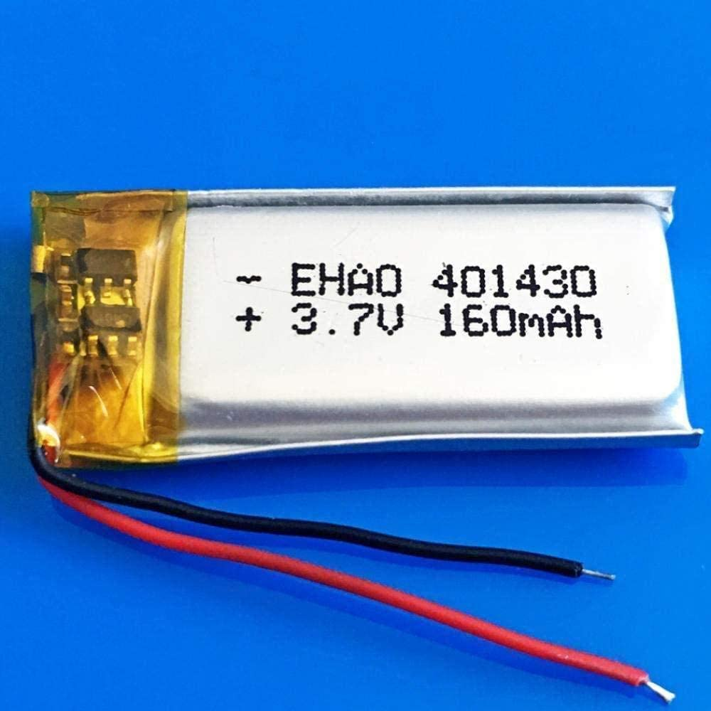 401430 3.7V 160mAh Lithium Polymer for service Battery Rechargeable New Shipping Free lipo