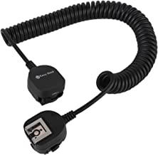 Off-Camera Shoe Cord, Easy Hood TTL Off Camera Flash Speedlite Cord for Sony Alpha A9 A7R IV A7 A7R A7S A7 II A7 III A7R II A7R III A7SII A6500 A6400 A6300 Camera with Multi Interface MI Shoe