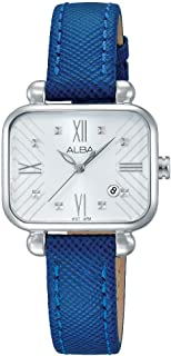 Alba Leather Casual Watch For Women , AH7K11X
