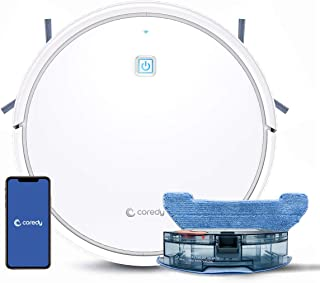 Coredy R750-W Robot Vacuum Cleaner, Compatible with Alexa, Mopping System, Boost Intellect, Virtual Boundary Supported, 22...