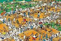大人のジグソーパズル2000ピース大人のジグソーパズル2000ピース子供大きなジグソーパズルゲームおもちゃギフト漫画スタジアム風景100x70cm