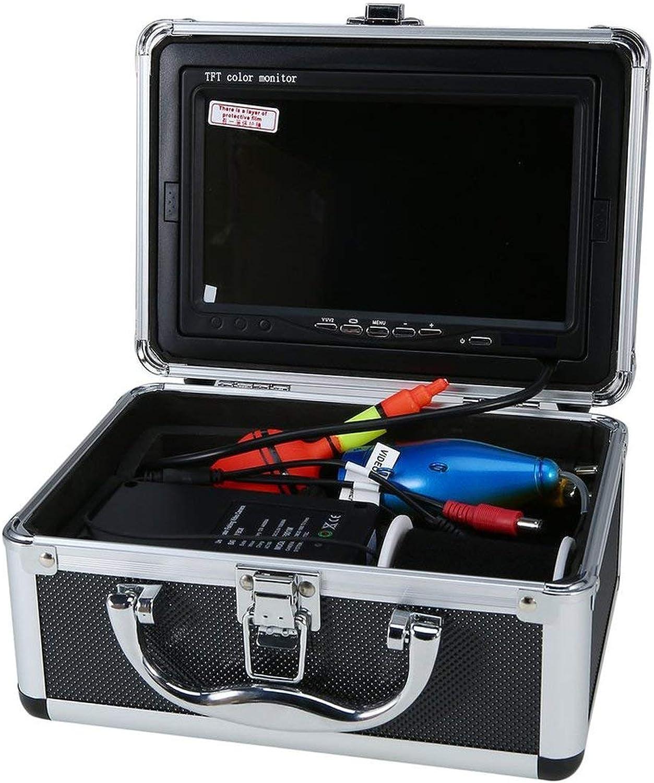 Ballylelly-Professionelle Video Fish Finder 1000TVL leuchtet steuerbare Unterwasserfischerkamera Kit See unter Wasser Video Fish Finder