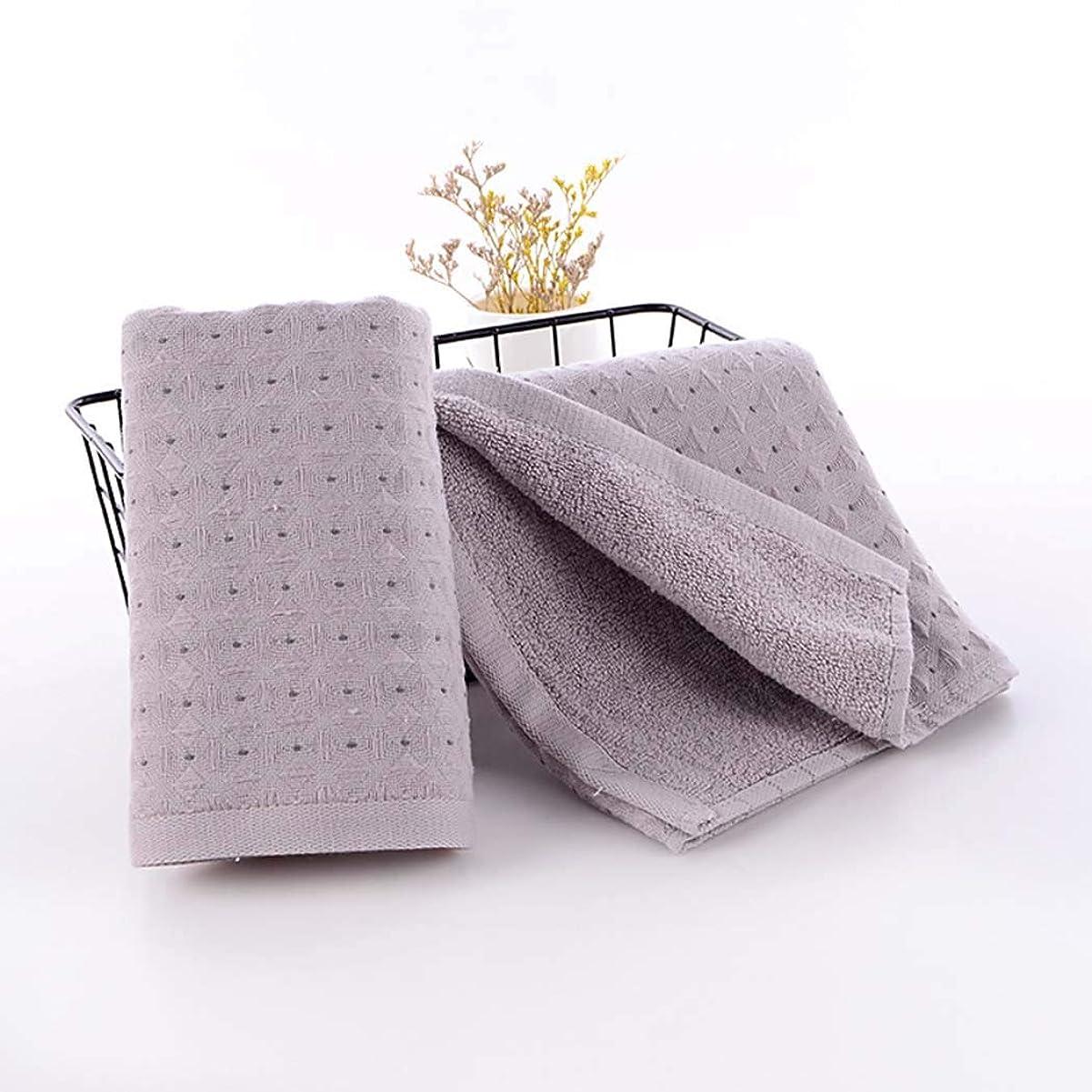 蓄積する腐敗したお金ゴム綿のハンドタオルの速い乾燥したタオルの速い乾燥したタオル,Gray,34*75cm