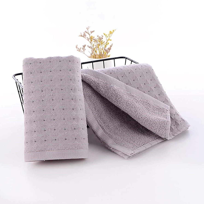 記念碑的な製造業誓約綿のハンドタオルの速い乾燥したタオルの速い乾燥したタオル,Gray,34*75cm
