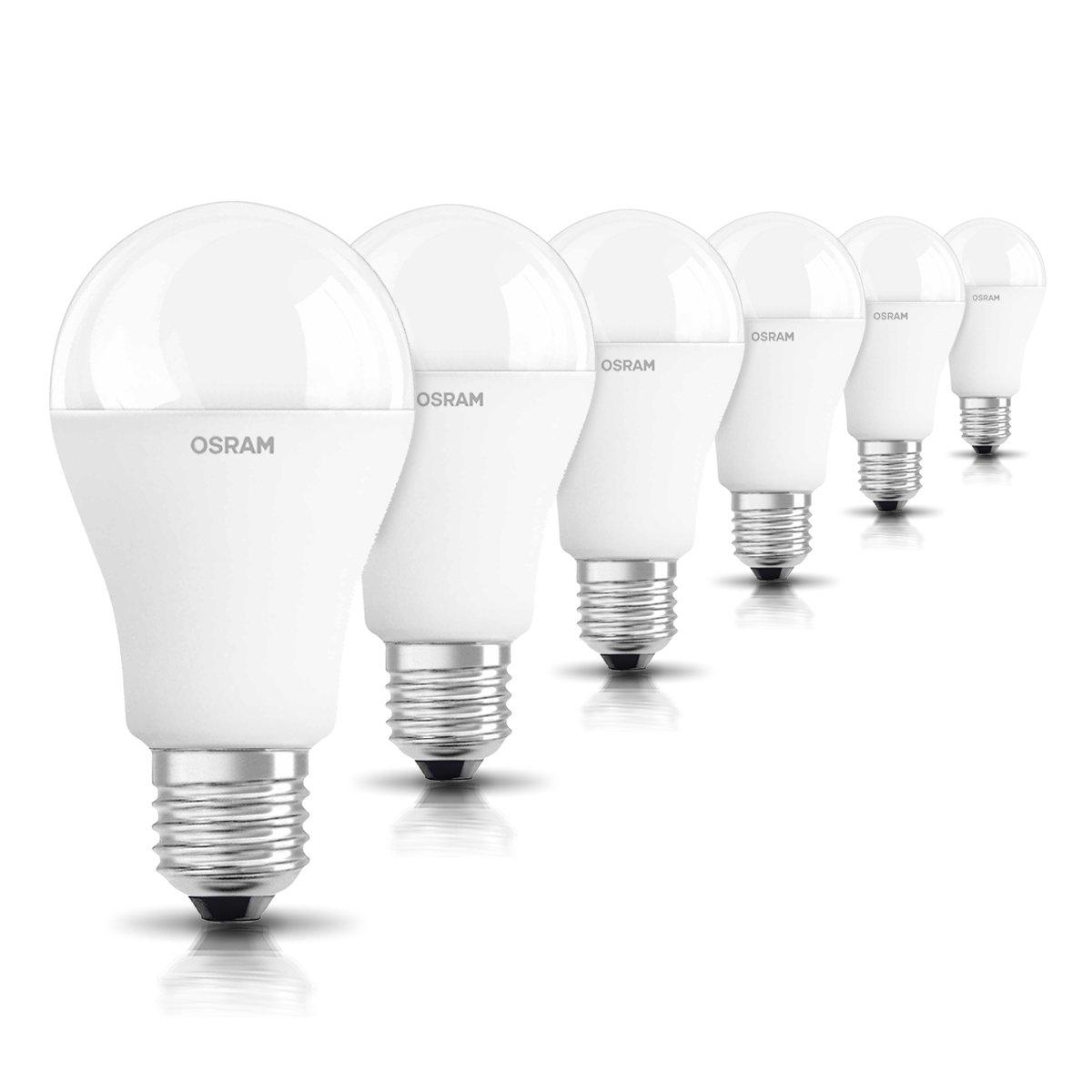 Osram Star Cl A 100 Bombilla LED, E27, 14.5 watts, Blanco, Pack de 6: Amazon.es: Iluminación