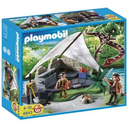 PLAYMOBIL 626057 - Tesoro Campamento Buscadores