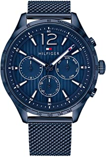Tommy Hilfiger Mens Quartz Watch, Chronograph Display and Stainless Steel Strap 1791471