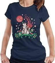 Okami Wolf Blossom Breeze Women's T-Shirt