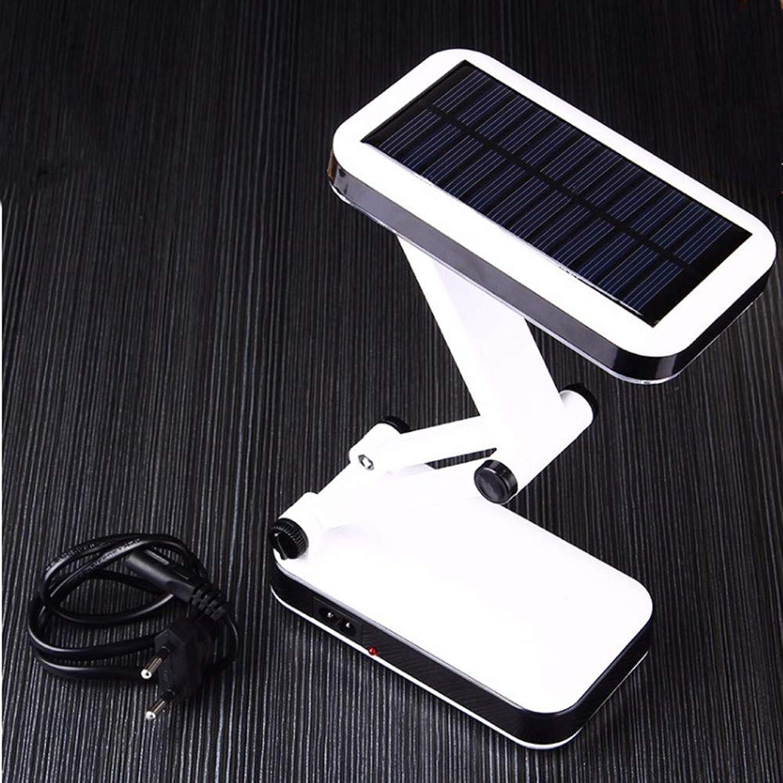Tischleuchte Solarbatterie Wiederaufladbare Faltbare Und Einstellbare Led-Tischlampe Mit 24-Leds-Leselampe Schreibtischlampe