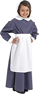 Charlie Crow Florence Nightingale Costume for Kids |3 Sizes| 5-11 Years.