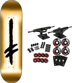 Deathwish Skateboard Complete Credo Gold 8.0