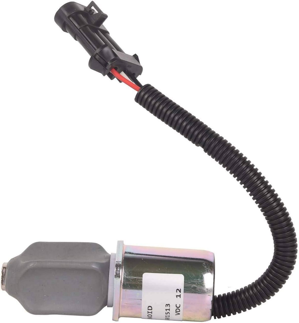 TOPAZ Fuel Weekly update Limited price Shut Off Solenoid 6681513 for Skid Fit Kubota Bobcat