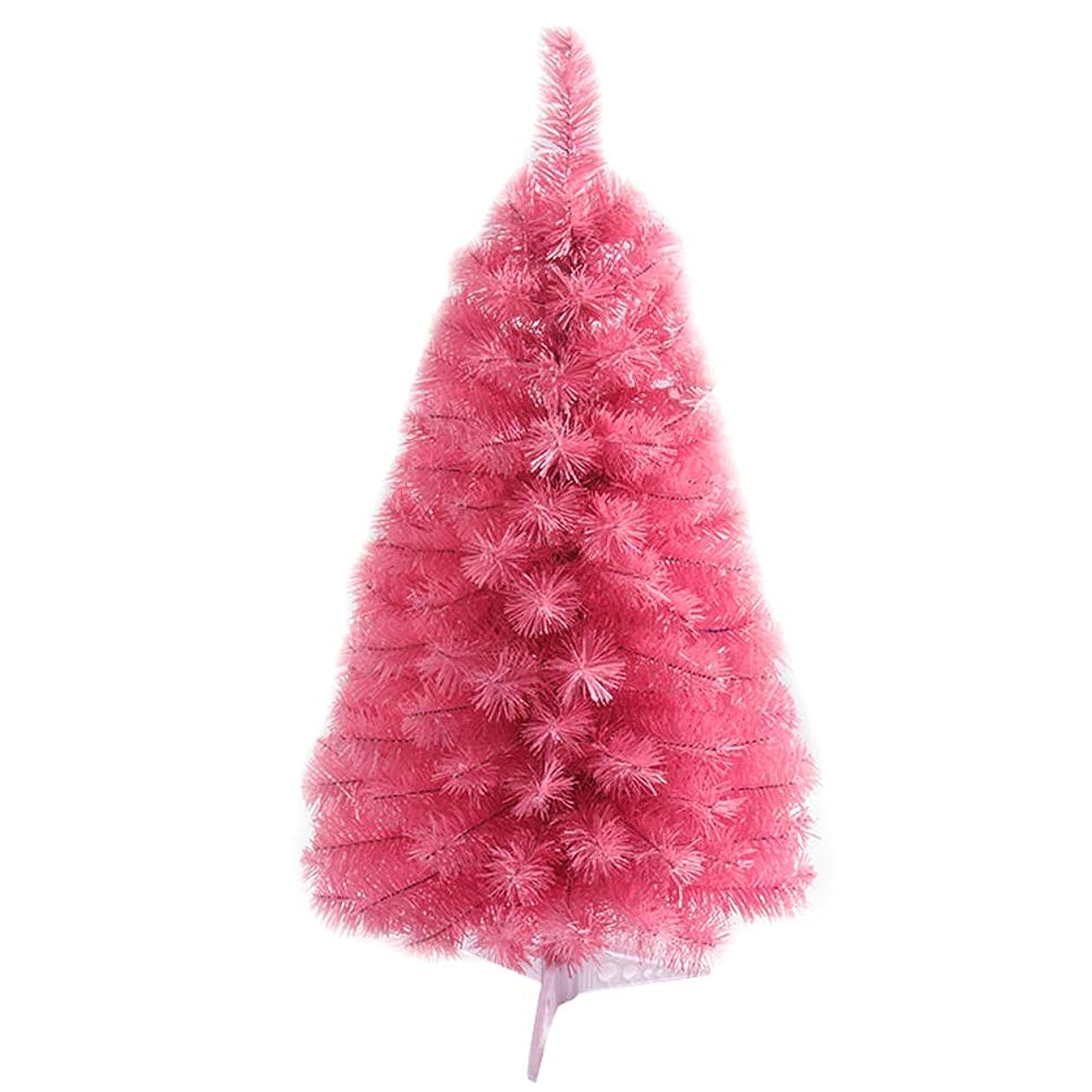 けがをする精査削減ピンクのクリスマスツリーの人工的なクリスマスツリーのお祝いの休日の装飾 60CM