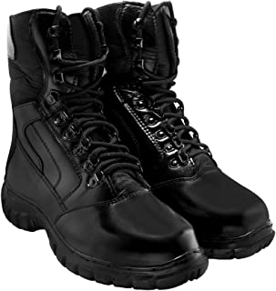 Blinder Men's Black Long Boots On Amazon.in