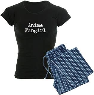 Anime Fangirl Women's Dark Pajamas Women's PJs - coolthings.us