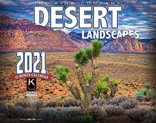 2021 Desert Landscape Wall Calendar (Single Unit) 16-Month X-Large size 14x22 Monster Calendars