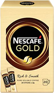 Nescafe Gold Rich & Smooth Instant Coffee Imported from Malaysia (20 sticks x 2g)
