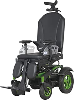 FHISD Electric Wheelchairs with The Electric Drive,Deluxe Indoor Outdoor Electric Reclining Wheelchair with Elevating & He...