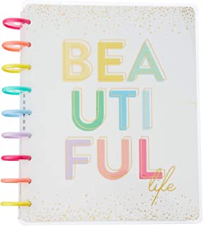 The Happy Planner Classic Planner, Vertical Weekly Layout - Beautiful Life Theme - Disc-bound Planner - Weekly & Monthly Pages - January 2019 to December 2019 - Classic Size - 7 x 9.25 in.