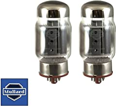 Brand New Plate Current Matched Pair (2) Mullard Reissue KT88 6550 Vacuum Tubes