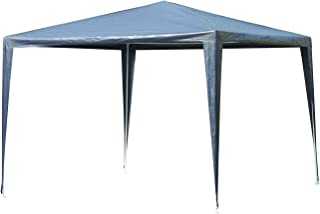 Outsunny Carpa Desmontable Impermeable 3x3x2,45m Pabellón