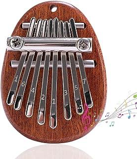 YeenGreen Kalimba Instrument Enfant, Piano à Doigt, Kalimba 8 Touches, Marimbas d'orchestre, Piano à Pouce Kalimba Mini Po...