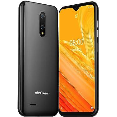 Ulefone Note 8(2020) Unlocked Smartphones, Unlocked 3G Cell Phones 5.5'' 2GB+16GB, Android 10 5MP+2MP Camera, Dual Sim Phone, 2700mAh Battery, Face ID, GPS, WiFi, Bluetooth, No Sprint& Verizon (Black)