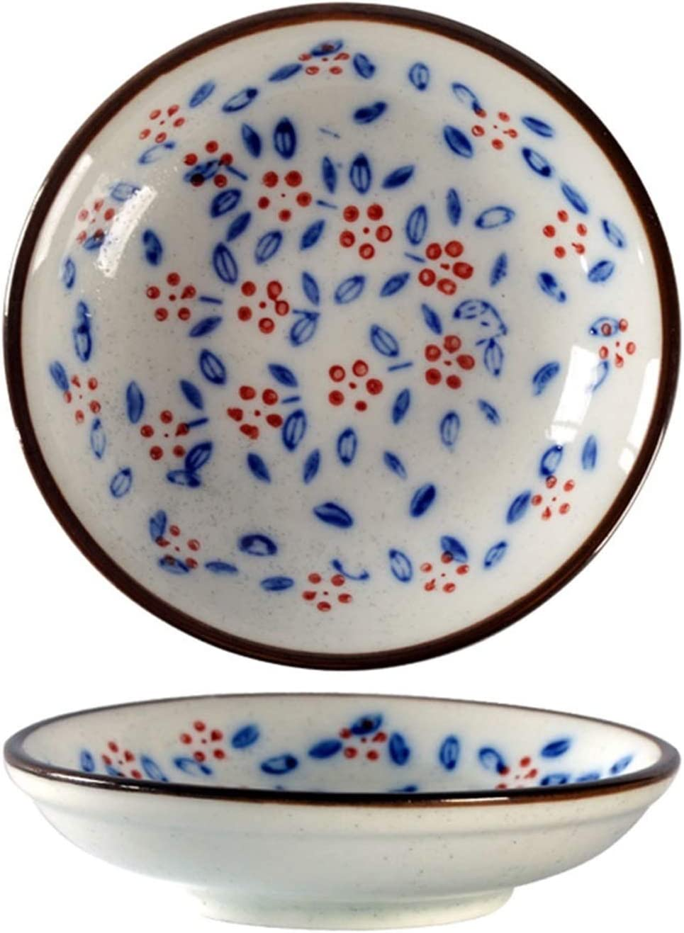 Austin Mall side dishes Ceramic Sauce Dish Salad Challenge the lowest price Bowl Fruit Round Sn