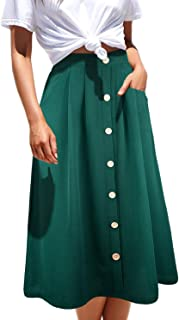 Best white button down skirt Reviews
