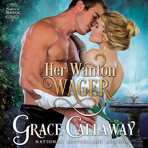 Her Wanton Wager audiobook cover art