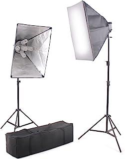 Kaezi Video Lighting Kit Photo Studio Kit 2000 Watt Digital Video Continuous CH9026S