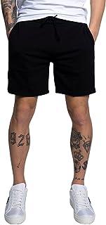شورت من قماش جاكار من كالفن كلاين للرجال، يحمل شعار العلامة - اتش دبليو كيه