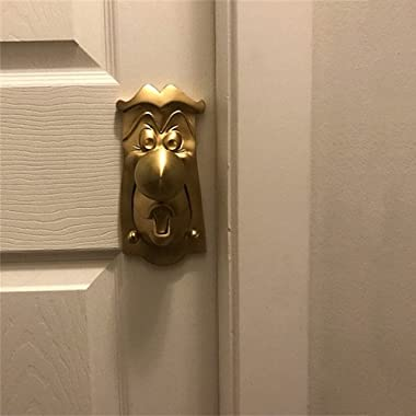 QNQA Inspired by Alice in Wonderland Door Knob,Cartoons Cute Mr. Doorknob, Handmade - Creative Resin Crafts-Perfect Replica,