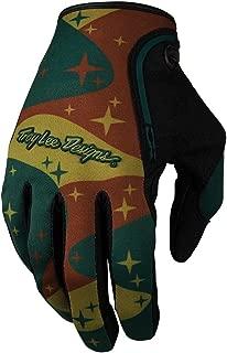 Troy Lee Designs XC Glove Cosmic Camo - green, small